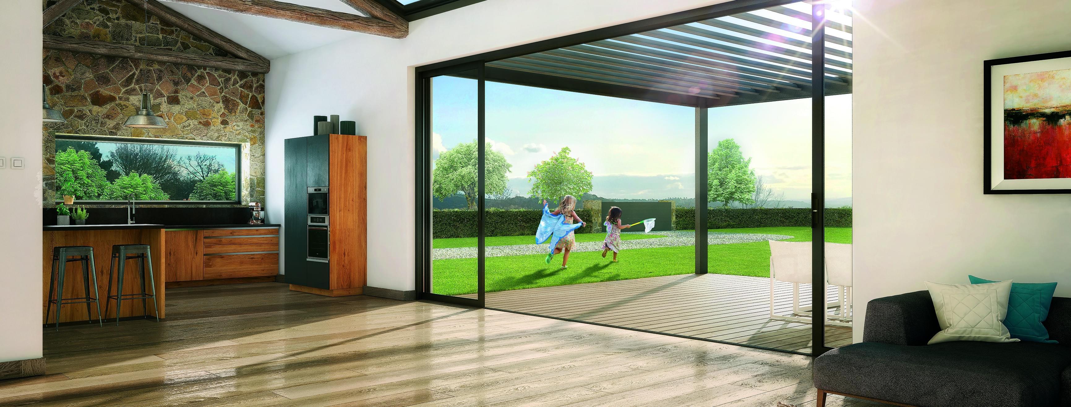l 39 expert en batiment fen tre aluminium tremblay en france. Black Bedroom Furniture Sets. Home Design Ideas