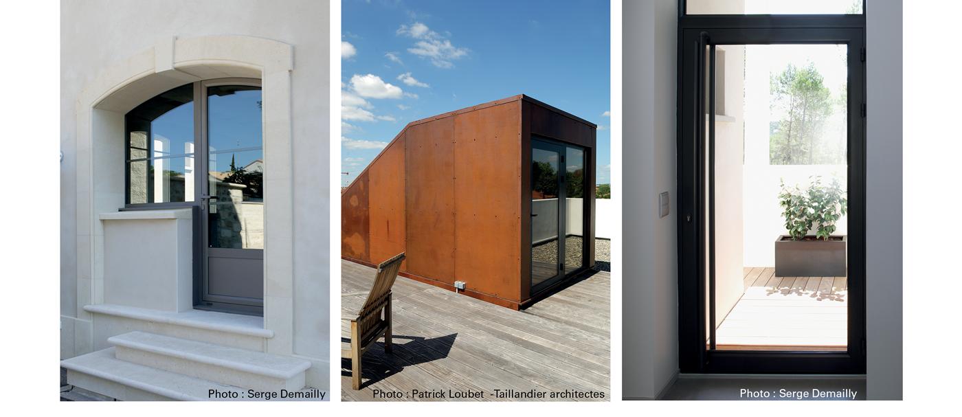 portes d 39 entr e aluminium tremblay en france l 39 expert en batiment. Black Bedroom Furniture Sets. Home Design Ideas